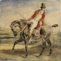 【欣赏级】YHR18090113-法国浪漫主义大师德拉克罗瓦Delacroix作品集高清大图下载法国画家油画风景作品高清大图风景油画高清图片-10M-2000X1757