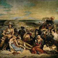 【印刷级】YHR18090180-法国浪漫主义大师德拉克罗瓦Delacroix作品集高清大图下载法国画家油画风景作品高清大图风景油画高清图片-50M-3856X4606