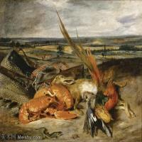 【打印级】YHR18090167-法国浪漫主义大师德拉克罗瓦Delacroix作品集高清大图下载法国画家油画风景作品高清大图风景油画高清图片-37M-4116X3142