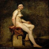 【印刷级】YHR18090175-法国浪漫主义大师德拉克罗瓦Delacroix作品集高清大图下载法国画家油画风景作品高清大图风景油画高清图片-41M-3395X4312
