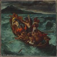 【欣赏级】YHR18090108-法国浪漫主义大师德拉克罗瓦Delacroix作品集高清大图下载法国画家油画风景作品高清大图风景油画高清图片-8M-1903X1568