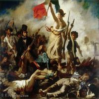 【印刷级】YHR18090181-法国浪漫主义大师德拉克罗瓦Delacroix作品集高清大图下载法国画家油画风景作品高清大图风景油画高清图片-53M-4851X3849