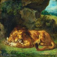 【印刷级】YHR18090178-法国浪漫主义大师德拉克罗瓦Delacroix作品集高清大图下载法国画家油画风景作品高清大图风景油画高清图片-47M-4508X3686