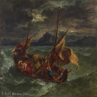 【印刷级】YHR18090184-法国浪漫主义大师德拉克罗瓦Delacroix作品集高清大图下载法国画家油画风景作品高清大图风景油画高清图片-60M-5081X4135