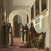 【欣赏级】YHR18090120-法国浪漫主义大师德拉克罗瓦Delacroix作品集高清大图下载法国画家油画风景作品高清大图风景油画高清图片-19M-3000X2288