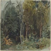 【欣赏级】YHR18090119-法国浪漫主义大师德拉克罗瓦Delacroix作品集高清大图下载法国画家油画风景作品高清大图风景油画高清图片-19M-3000X2254