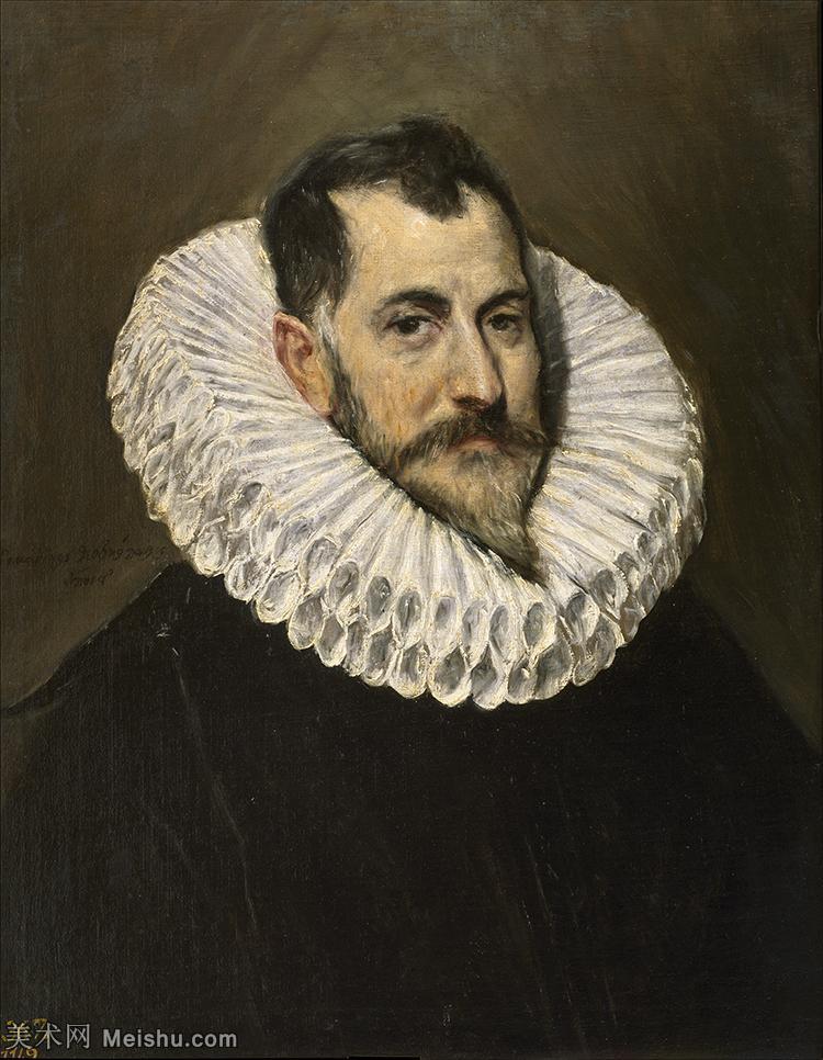 【打印级】YHR181003071-西班牙著名宗教画肖像画画家埃尔格列柯El Greco绘画作品高清图片-20M-236