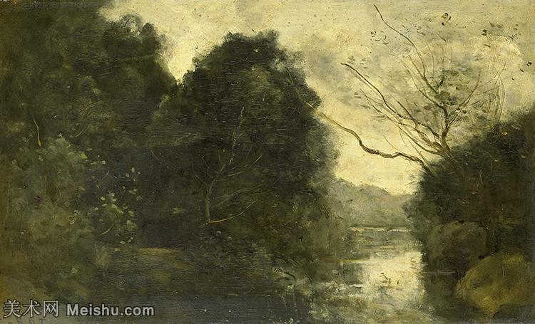【欣赏级】YHR080954066-法国写实主义风景画肖像画家柯罗Jean Baptiste Camille Corot