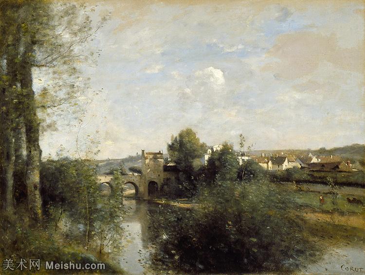 【欣赏级】YHR080954074-法国写实主义风景画肖像画家柯罗Jean Baptiste Camille Corot