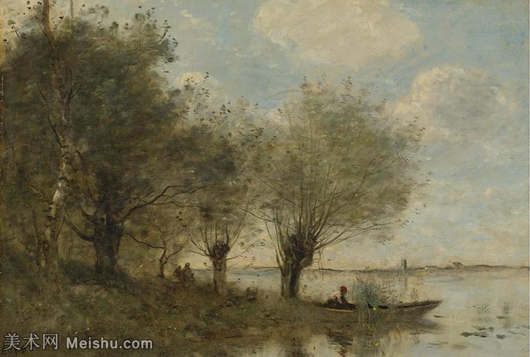 【欣赏级】YHR080954026-法国写实主义风景画肖像画家柯罗Jean Baptiste Camille Corot