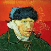 【打印级】YHR181043068-印象派大师梵高油画自画像凡高作品高清大图梵高星空高清大图Portrait of Armand Roulin2-26M-2717X3359 (2)