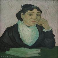 【欣赏级】YHR181043008-印象派大师梵高油画自画像凡高作品高清大图梵高星空高清大图Van_Gogh_-_L'Arlésienne-8M-1529X2024