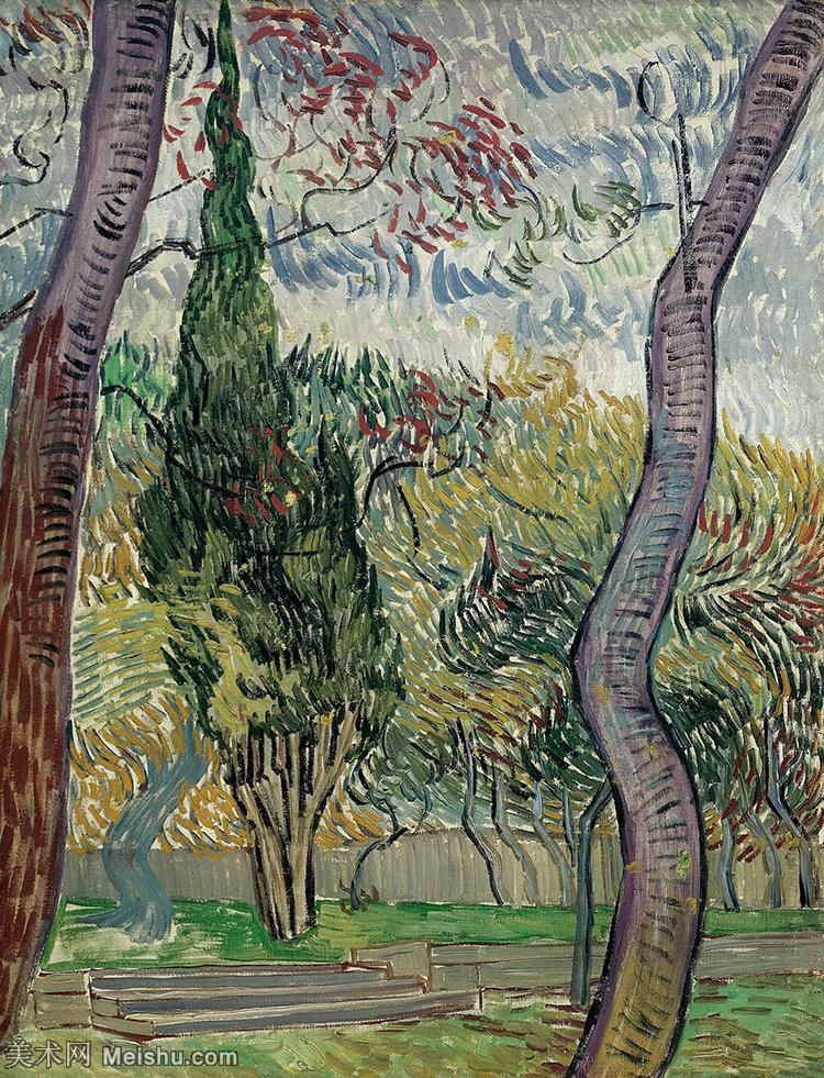 【欣赏级】YHR181049023-著名荷兰后印象派画家文森特梵高Vincent van Gogh手稿油画作品图片-Th