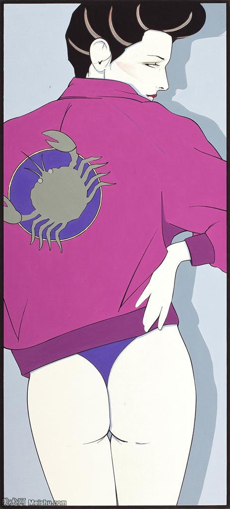 【欣賞級】ZSHR17143503-美國現代畫家帕特里克安吉爾Patrick Nagel繪畫作品高清圖片-11M-135