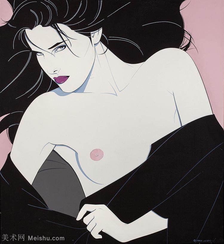 【打印級】ZSHR17143536-美國現代畫家帕特里克安吉爾Patrick Nagel繪畫作品高清圖片-23M-276