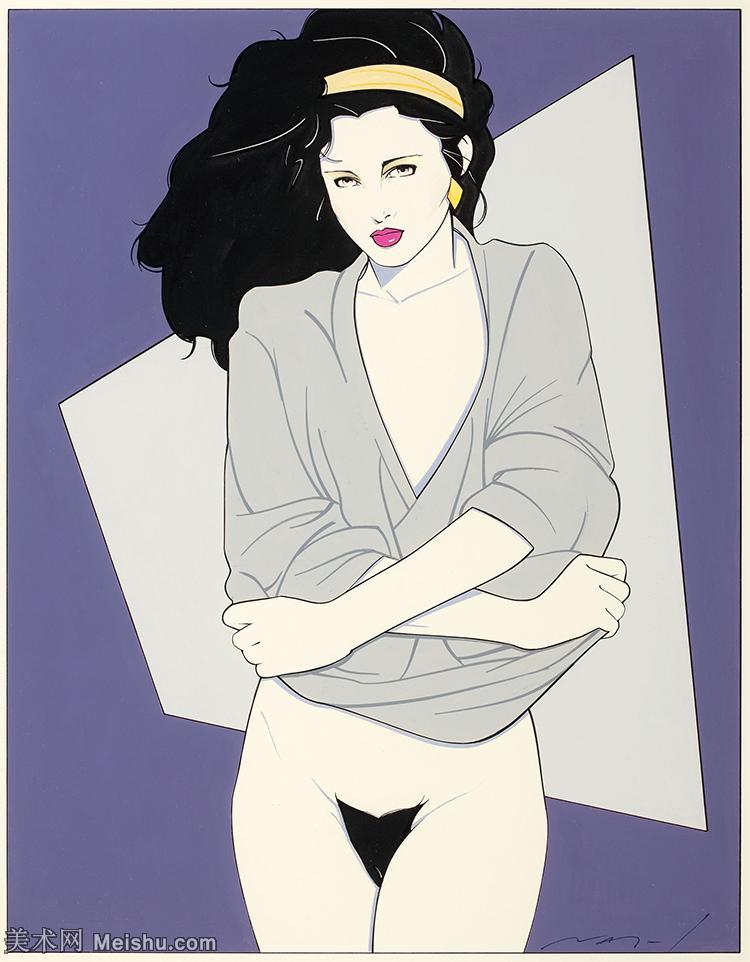 【欣赏级】ZSHR17143531-美国现代画家帕特里克安吉尔Patrick Nagel绘画作品高清图片-20M-233