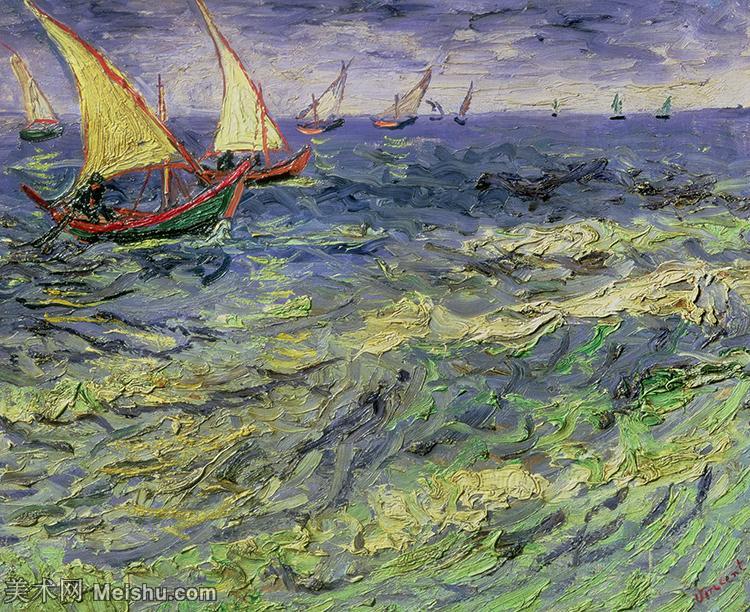【欣赏级】YHR181049048-著名荷兰后印象派画家文森特梵高Vincent van Gogh手稿油画作品图片-Se