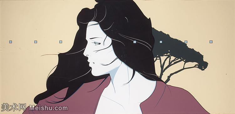 【欣賞級】ZSHR17143504-美國現代畫家帕特里克安吉爾Patrick Nagel繪畫作品高清圖片-12M-300