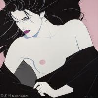 【打印级】ZSHR17143536-美国现代画家帕特里克安吉尔Patrick Nagel绘画作品高清图片-23M-2765X3000