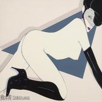 【欣赏级】ZSHR17143511-美国现代画家帕特里克安吉尔Patrick Nagel绘画作品高清图片-15M-2936X1892