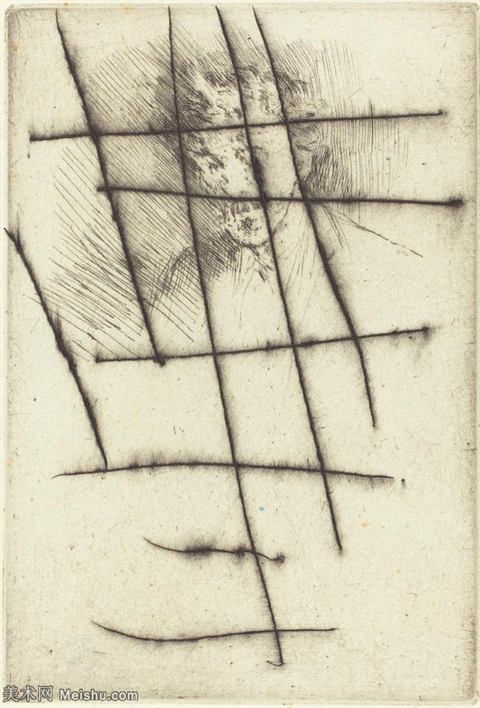 【欣赏级】SMR180840026-美国画家惠斯勒James Abbott McNeill Whistler素描速写作品