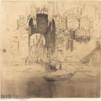 【欣赏级】SMR180840040-美国画家惠斯勒James Abbott McNeill Whistler素描速写作品高清图片-8M-2000X1411
