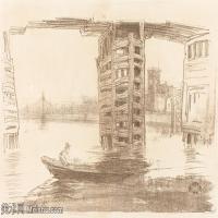 【欣赏级】SMR180840024-美国画家惠斯勒James Abbott McNeill Whistler素描速写作品高清图片-7M-2000X1356