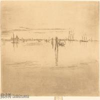 【欣赏级】SMR180840032-美国画家惠斯勒James Abbott McNeill Whistler素描速写作品高清图片-7M-2000X1376