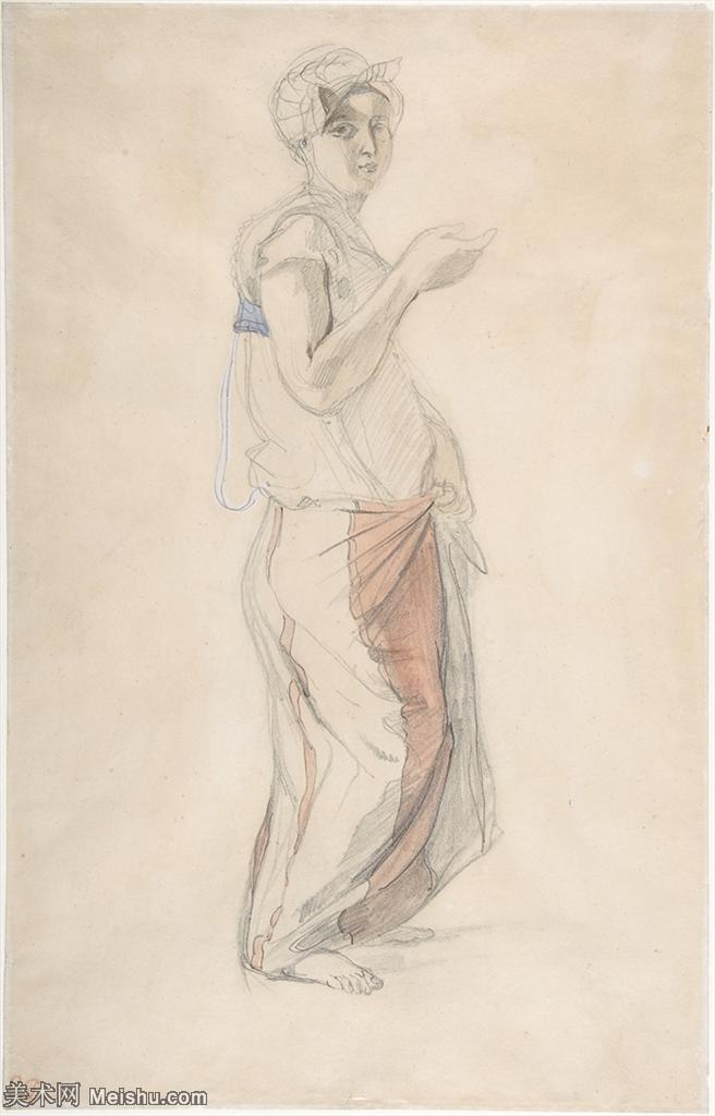 【打印级】SMR180900080-法国著名浪漫主义画派画家德拉克洛瓦Eugène Delacroix作品集高清大图下载