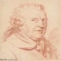 【打印級】SMR18100927-法國洛可可風格畫家讓巴蒂斯特格勒茲Jean Baptiste Greuze古典人物油畫作品圖片-Portrait of a Man-28M-2795X3615