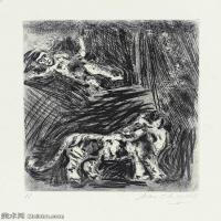 【打印級】YHR151642387-法國著名畫家馬克夏加爾Marc chagall抽象油畫高清圖片印象派油畫作品圖片-23M-2577X3201