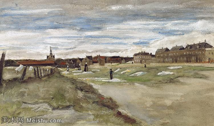 【打印级】SMR181046068-著名荷兰后印象派画家文森特梵高Vincent van Gogh手稿素描作品图片-Bl