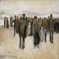 【欣赏级】SMR181046030-著名荷兰后印象派画家文森特梵高Vincent van Gogh手稿素描作品图片-VINCENT VAN GOGH-SORROW-19M-2102X3208