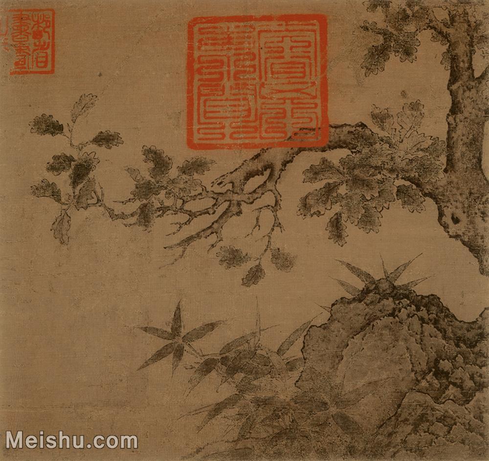 【印刷级】GH6156000古画古木竹石图植物小品图片-33M-3534X3335.jpg
