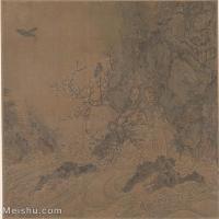 【印刷级】GH6081098古画山水风景宋代崔悫梅溪瀑布图-小品图片-27M-2934X3231
