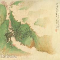 【印刷级】GH6081096古画山水风景清代乌目山中人王翚-小品图片-48M-5097X3354