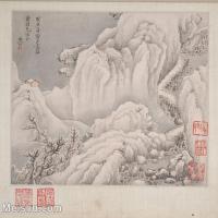 【印刷级】GH6081118古画山水风景清代樊圻-小品图片-35M-3692X3337