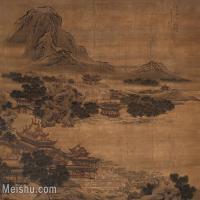 【印刷级】GH6156230古画水殿纳凉图(清 袁耀)山水小品图片-17M-2800X2152