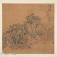 【印刷级】GH6081105古画山水风景元代画家张中子政-小品图片-30M-4000X2653