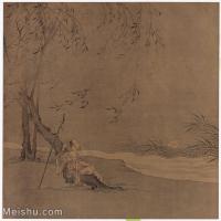 【印刷级】GH6156232古画宋人小品 山水图片-57M-4445X4499