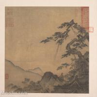 【印刷级】GH6081097古画山水风景古代-小品图片-40M-3851X3648