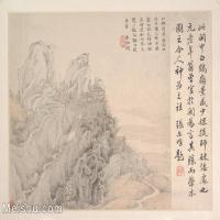 【印刷级】GH6081101古画山水风景清代张学曾王尔唯-小品图片-36M-4000X3166