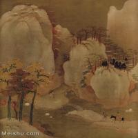 【印刷级】GH6156225古画宋人册页 山水图片-41M-3376X4267