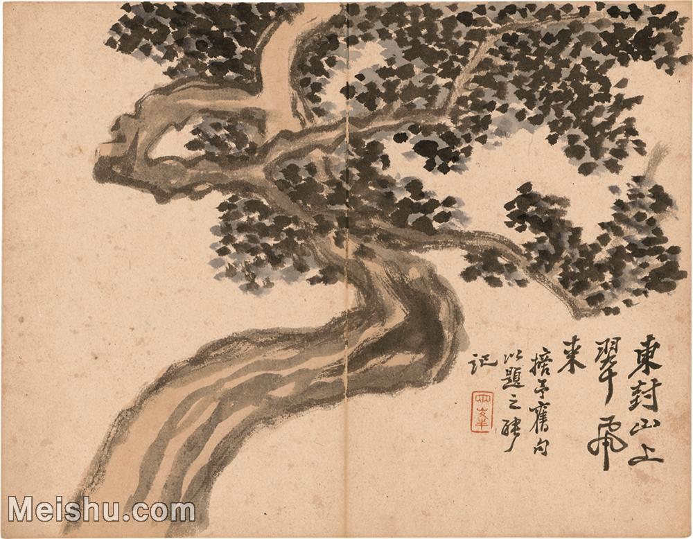 【印刷级】GH6040012古画册页清 罗聘-花果图册图片-41M-3733X2905.jpg