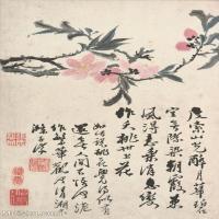 【印刷级】GH6060899古画二玄社-清-石涛-花卉册(12幅)-(5)册页图片-60M-2365X3649_56945746