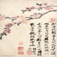 【印刷级】GH6060893古画二玄社-清-石涛-花卉册(12幅)-(1)册页图片-58M-2357X3644_56939132