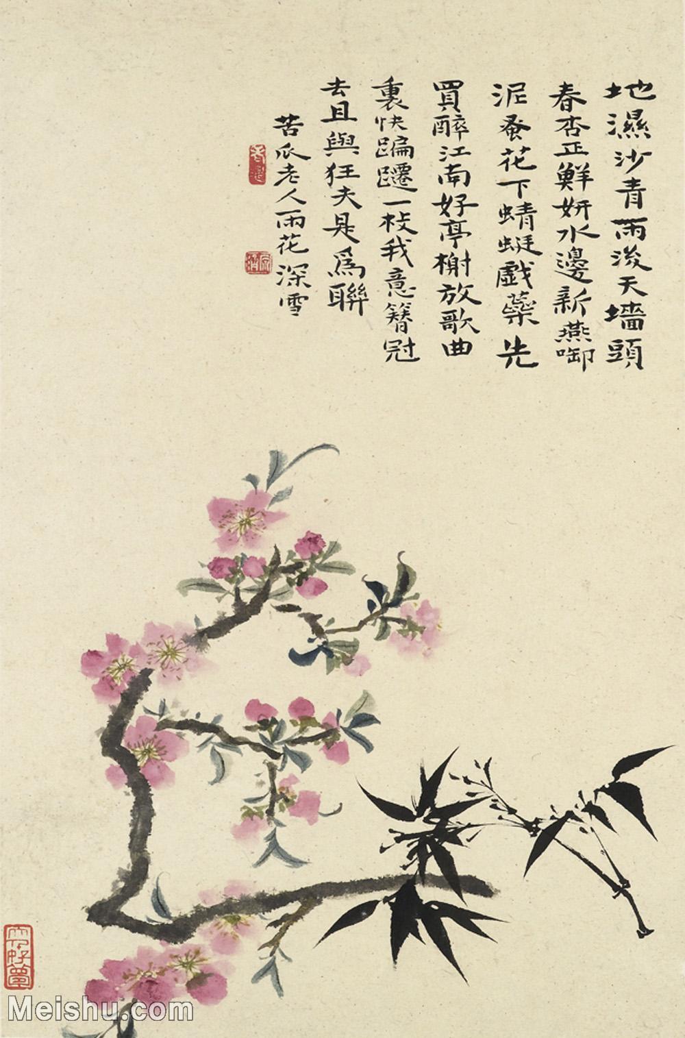 【印刷级】GH6062447古画石涛花卉册(7)册页图片-43M-3183X4823.jpg