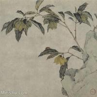 【印刷级】GH6065044古画花卉册页-(12)册页图片-127M-4832X4623
