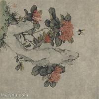 【印刷级】GH6065049古画花卉册页-(6)册页图片-132M-4692X4941