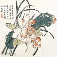 【印刷级】GH6065019古画王概-芥子园图谱册页图片-39M-4000X3413